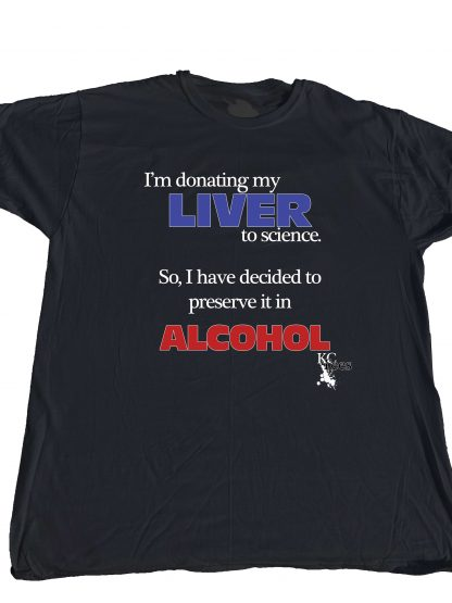 I'm donating my liver at KensDirect.com