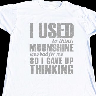 I used to think moonshine was bad for me, then I stopped thinking at KensDirect.com